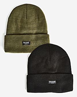 Khaki & Black Pack 2 Hats