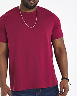 Wine Crew Neck T-Shirt Regular