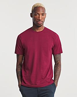 Wine Crew Neck T-Shirt Long