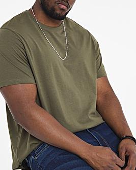 Khaki Crew Neck T-Shirt Regular