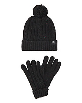 Nep Hat and Glove Set
