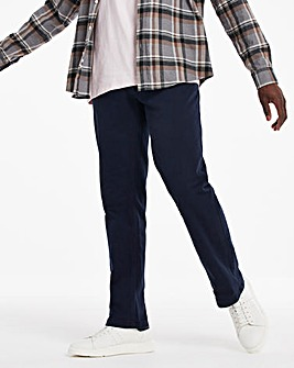 Navy Loose Fit Twill Jeans