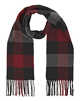 Wine Check Scarf