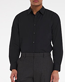 Black Long Sleeve Formal Shirt Long
