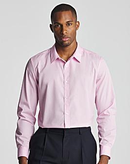 Pink Long Sleeve Formal Shirt Long