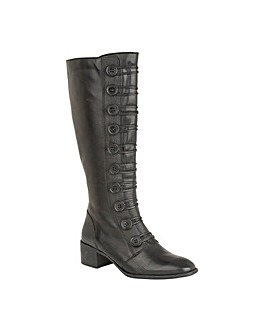 Lotus Spindle Knee-High Boots