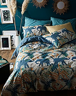 Savannah Tropical Duvet Cover Set