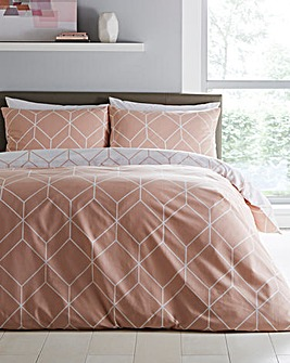 Oberon Blush Duvet Set