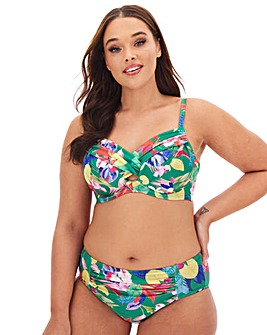 Dorina Curves Merida Eco Non Padded Twist Front Bikini Top