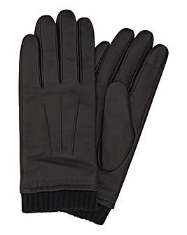 Cuffed Leather Glove