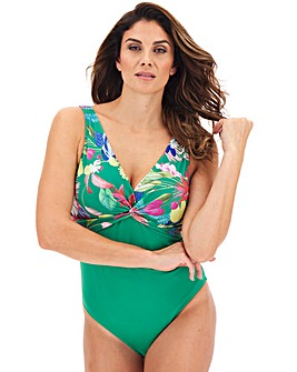 Dorina Curves Merida Eco Twist Front Body Shaping Swimsuit