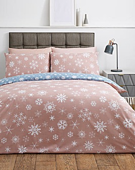 Winter Flurry Reversible Duvet Cover Set