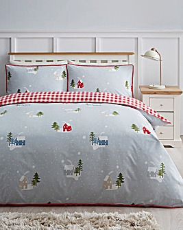 Petit Home Reversible Duvet Cover Set