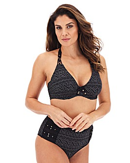 Dorina Corfu Metallic Crochet Wired Halter Bikini Top