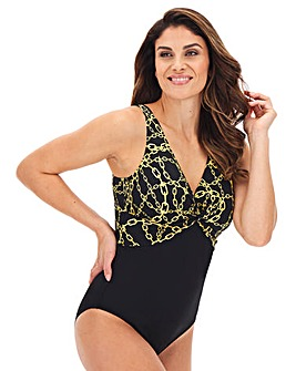 Dorina Curves Apella Twist Front Body Shaping Swimsuit