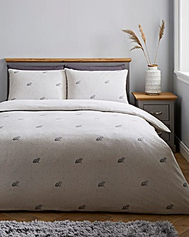 Bunny Brushed Cotton Duvet Set
