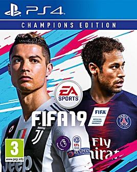 FIFA 19 - Champions Edition PS4