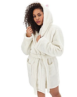 Boux Avenue Cat Ears Hooded Robe
