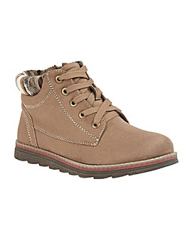 Lotus Sequoia Lace-Up Ankle Boots