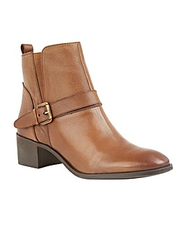 Lotus Indus Leather Ankle Boots