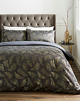 Hope Embellished Feather Duvet Set