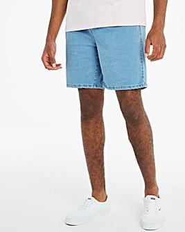 Bleachwash Elasticated Waist Cargo Shorts