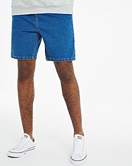 Stonewash Jogger Elasticated Waist Denim Shorts