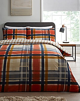 Aspen Piped Detail Duvet Set