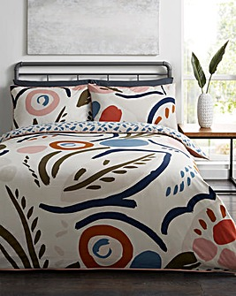 Farley Piped Duvet Set