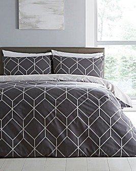 Oberon Grey Duvet Set