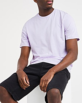 Lilac Crew Neck T-Shirt Long