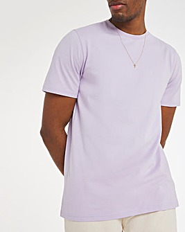 Lilac Crew Neck T-Shirt Long