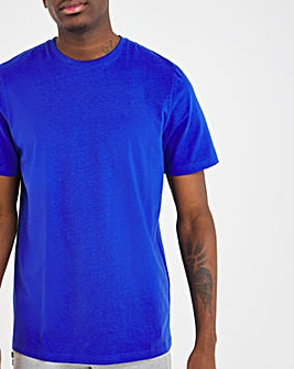 Cobalt Crew Neck T-Shirt Long