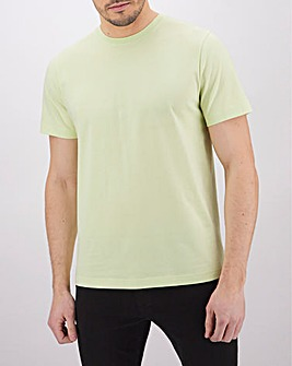 Lime Crew Neck T-Shirt Long