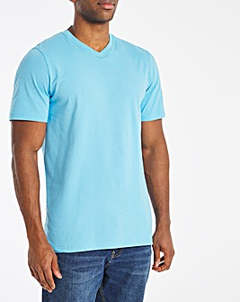 Colbalt V Neck Core Tee Long