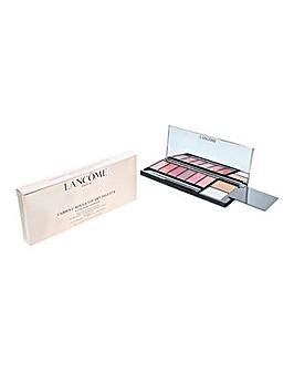 Lancome LAbsolu Rouge Starlight Sparkle Lipstick Palette 6 Colours 2 Top Coats