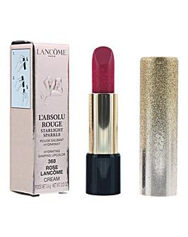 Lancome LAbsolu Rouge Starlight Sparkle Cream Lipstick 3.4g - 368 Rose