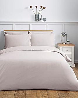 Easy-Care Plain Dye Duvet Cover