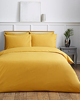 Easy-Care Plain Dye Duvet Cover