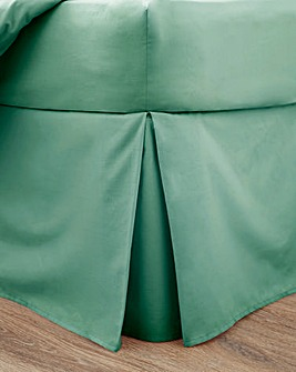 Responsibly Sourced Easy-Care Plain Dye Base Valance