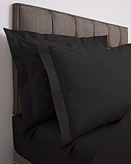 Responsibly Sourced Easy-Care Plain Dye Oxford Pillowcase