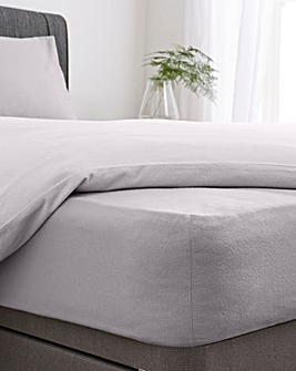 Super Soft Brushed Cotton Fitted Sheet