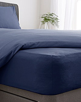 Super Soft Brushed Cotton Extra Deep Fitted Sheet