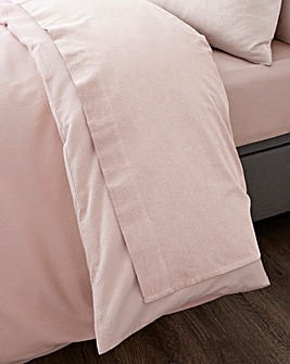 Brushed Cotton Extra Wide Flat Sheet