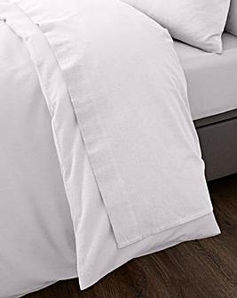 Brushed Cotton Extra Wide Flat Sheet