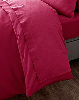 Super Soft Brushed Cotton Extra Wide Flat Sheet