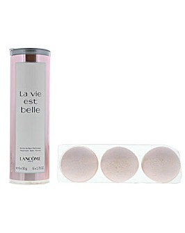Lancome La Vie Est Belle Happiness Bath Bombs 6 x 50g