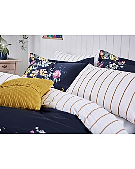 Joules Cambridge Floral 180 Thread Count Cotton Pillowcases