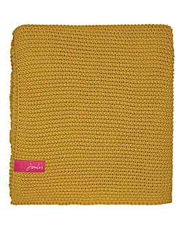 Joules Moss Stitch Throw