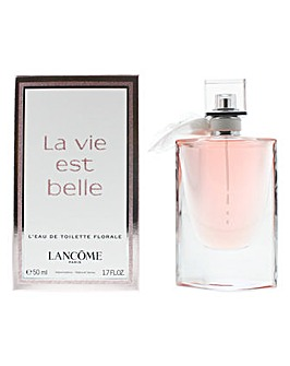 Lancome La Vie Est Belle Eau De Toilette Florale Spray For Her